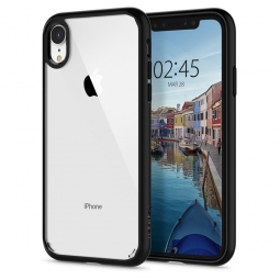 SPIGEN ULTRA HYBRID IPHONE XR MATTE BLACK
