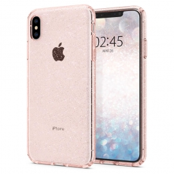 SPIGEN LIQUID CRYSTAL IPHONE XS MAX GLITTER ROSE