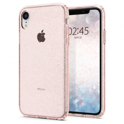 SPIGEN LIQUID CRYSTAL IPHONE XR GLITTER ROSE