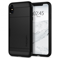 SPIGEN SLIM ARMOR CS IPHONE X/XS BLACK