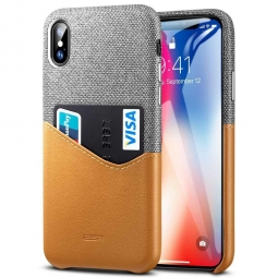 ESR METRO IPHONE X/XS BROWN/GREY