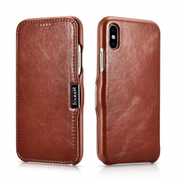 ICARER VINTAGE IPHONE XS MAX BROWN