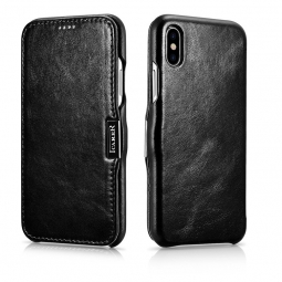 ICARER VINTAGE IPHONE XS MAX BLACK