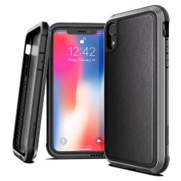 X-DORIA DEFENSE LUX IPHONE XR BLACK LEATHER