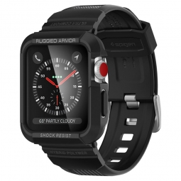 "SPIGEN RUGGED ARMOR ""PRO"" APPLE WATCH 1/2/3 (42MM) BLACK"
