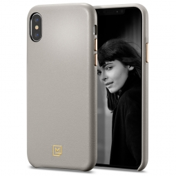 SPIGEN LA MANON CALIN IPHONE XS MAX OATMEAL BEIGE