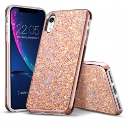 ESR GLITTER IPHONE XR ROSE GOLD