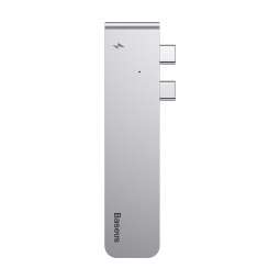 BASEUS ADAPTER TYPE-C TO MULTI PORT 5IN1 SPACE GRAY