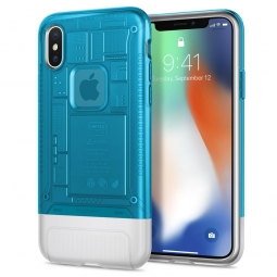 SPIGEN CLASSIC C1 IPHONE X/XS BLUEBERRY