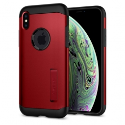 SPIGEN SLIM ARMOR IPHONE XS MAX MERLOT RED