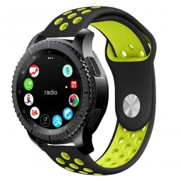 TECH-PROTECT SOFTBAND SAMSUNG GALAXY WATCH 42MM BLACK/LIME