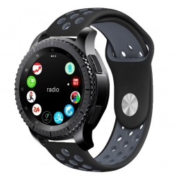 TECH-PROTECT SOFTBAND SAMSUNG GALAXY WATCH 46MM BLACK/GREY