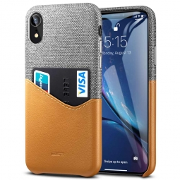 ESR METRO IPHONE XR BROWN/GREY