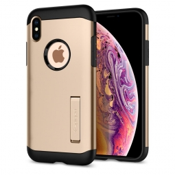 SPIGEN SLIM ARMOR IPHONE X/XS CHAMPAGNE GOLD