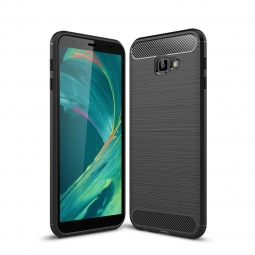 TECH-PROTECT TPUCARBON GALAXY J4+ PLUS BLACK