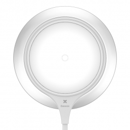BASEUS METAL WIRELESS CHARGER WHITE