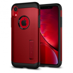 SPIGEN SLIM ARMOR IPHONE XR MERLOT RED